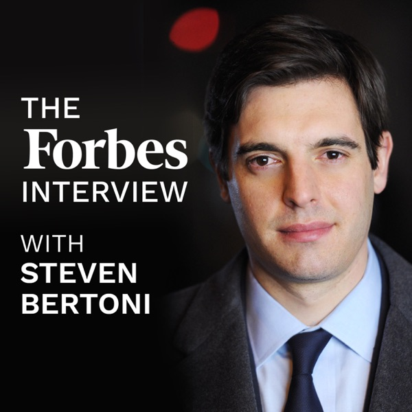 The Forbes Interview banner backdrop