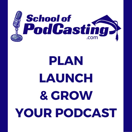 Cover image of School of Podcasting