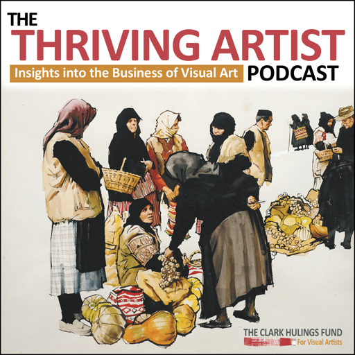 Cover image of The Thriving Artist