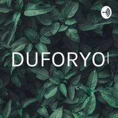 RDUFORYOU