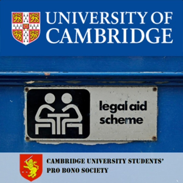 Cambridge University Students' Pro Bono Society Lectures