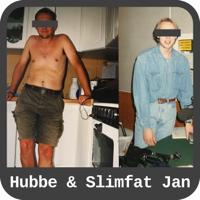 Hubbe och Slimfat Jan podcast