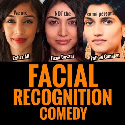Facial Recognition Comedy:Comedy Pop-Up Podcast Network