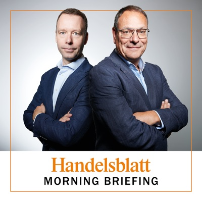 Handelsblatt Morning Briefing:Sven Afhüppe, Hans-Jürgen Jakobs und die Handelsblatt Redaktion