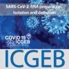 SARS-CoV-2: RNA preparation, Isolation and detection artwork
