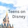 Teens on Disney artwork