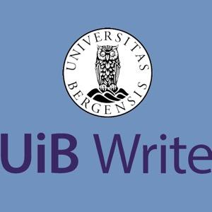 UiB Write : on teaching with writing in HigherEd