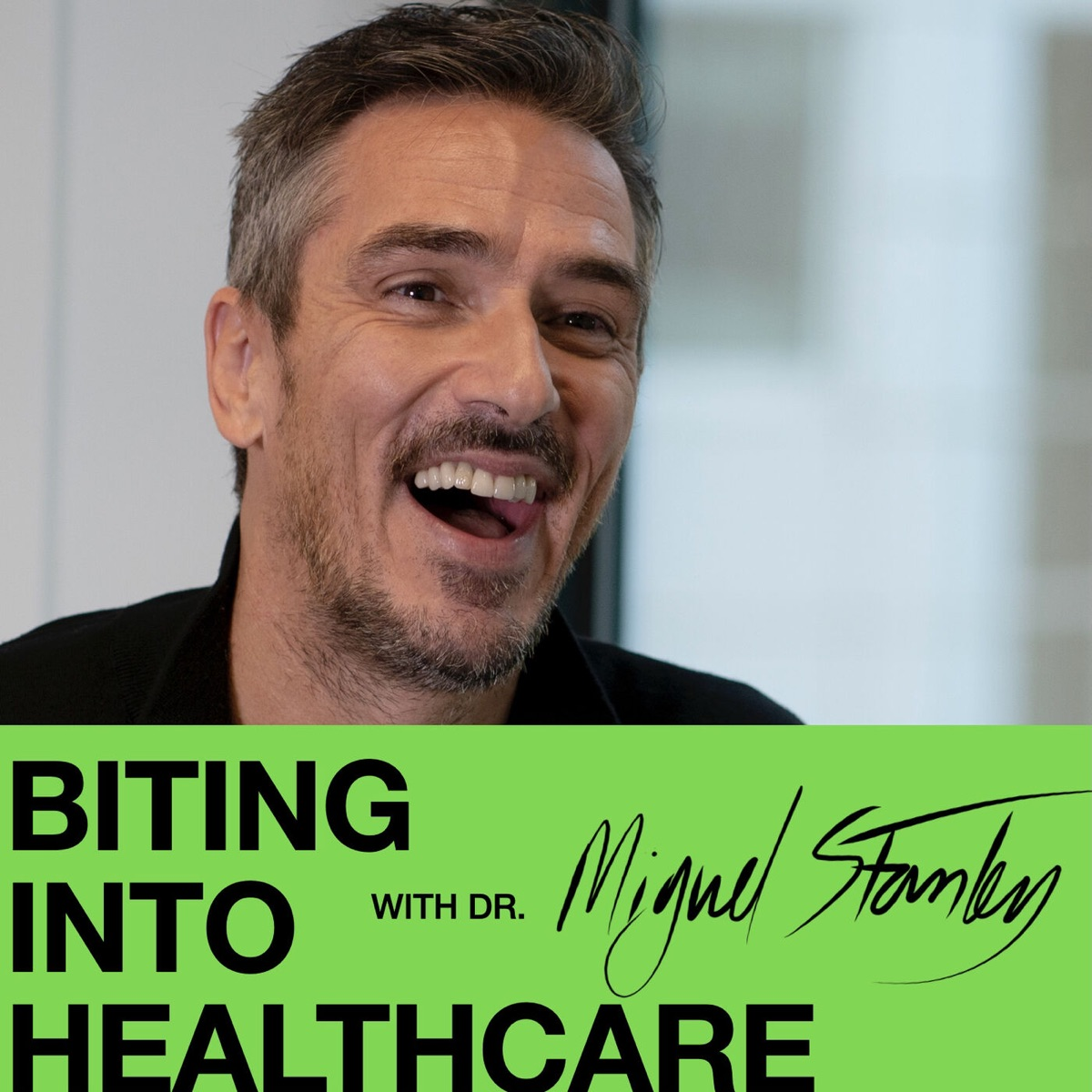 Biting into Healthcare with Dr Miguel Stanley