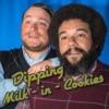 Dipping Milk in Cookies artwork