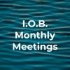 I.O.B. Monthly Meetings artwork
