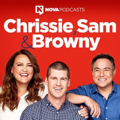 Chrissie, Sam and Browny:Nova Podcasts