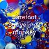 Barefoot traveling monkey artwork