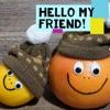 Hello my friend artwork
