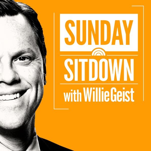 Sunday Sitdown with Willie Geist banner backdrop