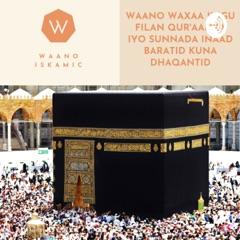 Waano Islamic Somali