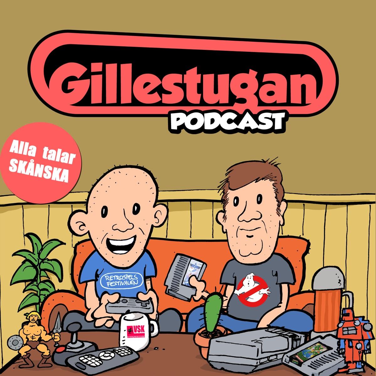 Gillestugan Podcast #70 – Super Nintendo i Sverige med Lirod