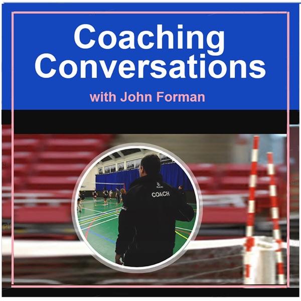 Coaching Conversations – Coaching Volleyball Artwork