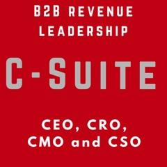 B2B Sales & Marketing Leadership - for B2B Companies - CXO - VC - Startup - Success - SaaS