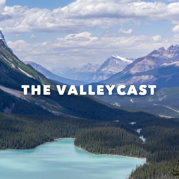 The Valleycast logo