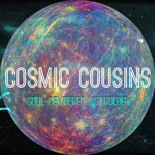 Cover image of Cosmic Cousins: Soul-Centered Astrology