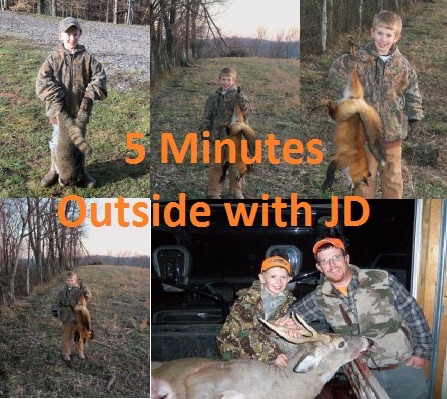 5 Minutes Outside with JD Video Podcast