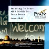 Stand for Peace: MLK Middle East Peace Forum