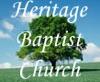 Heritage  Baptist Church in Opelika, Alabama artwork