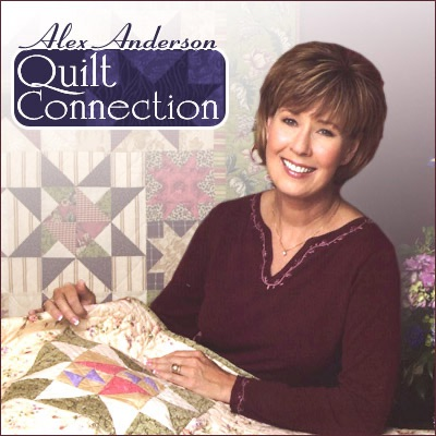 Cover image of Alex Anderson Quilt Connection