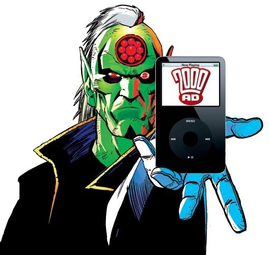 Everything Comes Back to 2000AD