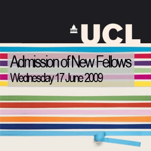UCL Fellows Inauguration Ceremony 2009 - Video
