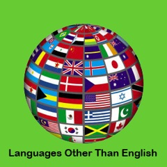 Languages other than English Resources