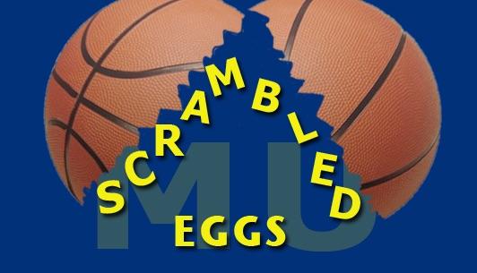 Scrambled Eggs - Marquette Basketball Artwork