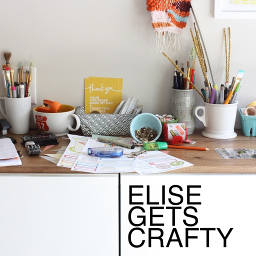 Cover image of ELISE GETS CRAFTY