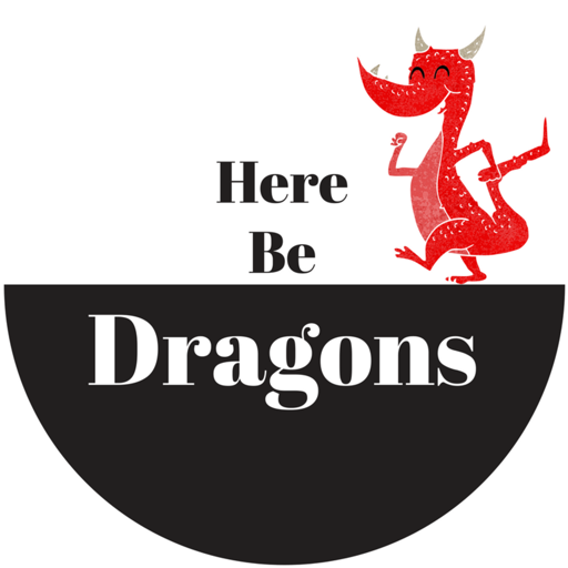Cover image of Here Be Dragons--Kitesurfing Travel Guide
