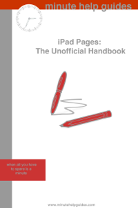iPad Pages ebook