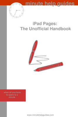 iPad Pages - Minute Help Guides book