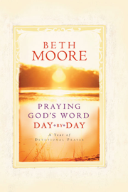 Praying God's Word Day by Day book