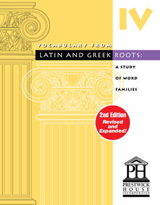 Vocabulary from Latin and Greek Roots - Book IV - Elizabeth Osborne book