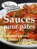 JeBouffe - JeBouffe-Express Sauces pour pâtes. Recettes faciles et rapides à préparer artwork