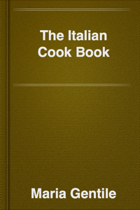 The Italian Cook Book Book Review