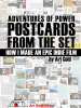 Ari Gold - Adventures of Power Postcards from the Set  artwork