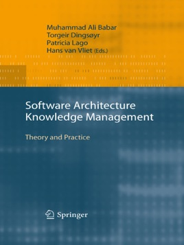 ‎Software Architecture Knowledge Management
