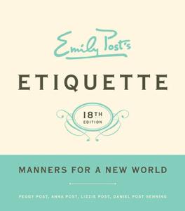 Emily Post's Etiquette, 18 ebook
