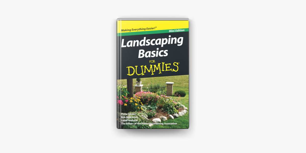 Landscaping Basics For Dummies Mini Edition On Apple Books