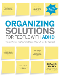 Organizing Solutions for People with ADHD, 2nd Edition-Revised and Updated Cover Book