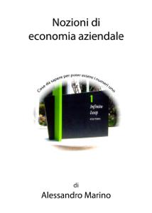 Nozioni di economia aziendale Copertina del libro