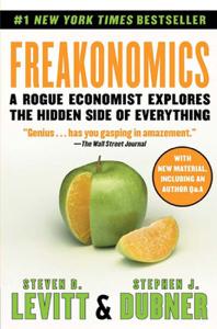 Freakonomics Copertina del libro
