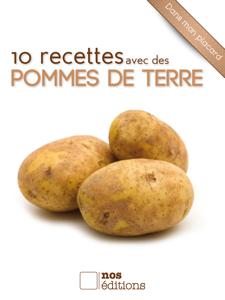 10 recettes avec des pommes de terre La couverture du livre martien