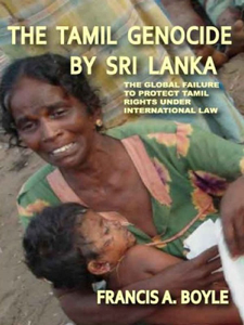 The Tamil Genocide by Sri Lanka Libro Cover
