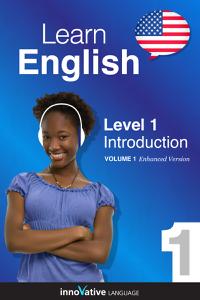Learn English - Level 1: Introduction to English (Enhanced Version) Copertina del libro